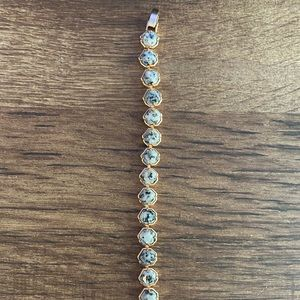 Kendra Scott Marble Rose Gold Bracelet